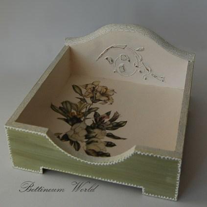 serwetnik w kwiaty