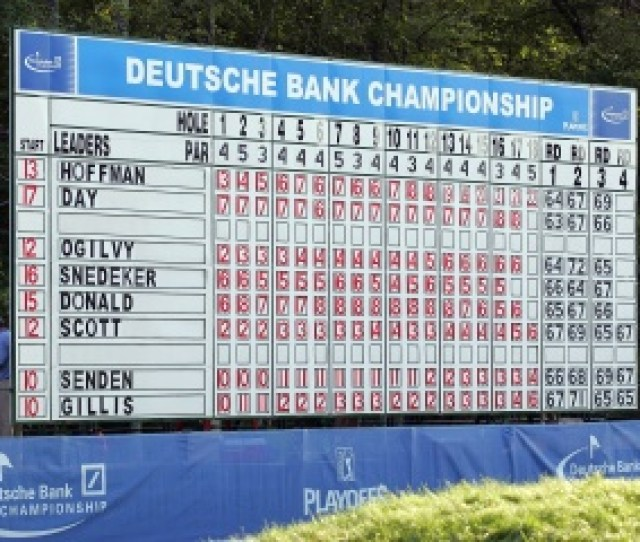 Pga Tour Tips The Deutsche Bank In Play Guide Golf Events Golf Last Years Leaderboard Who Will Be Top In