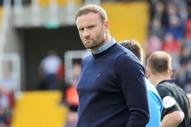 Hands Off: Barrow Reject Approach for Ian Evatt