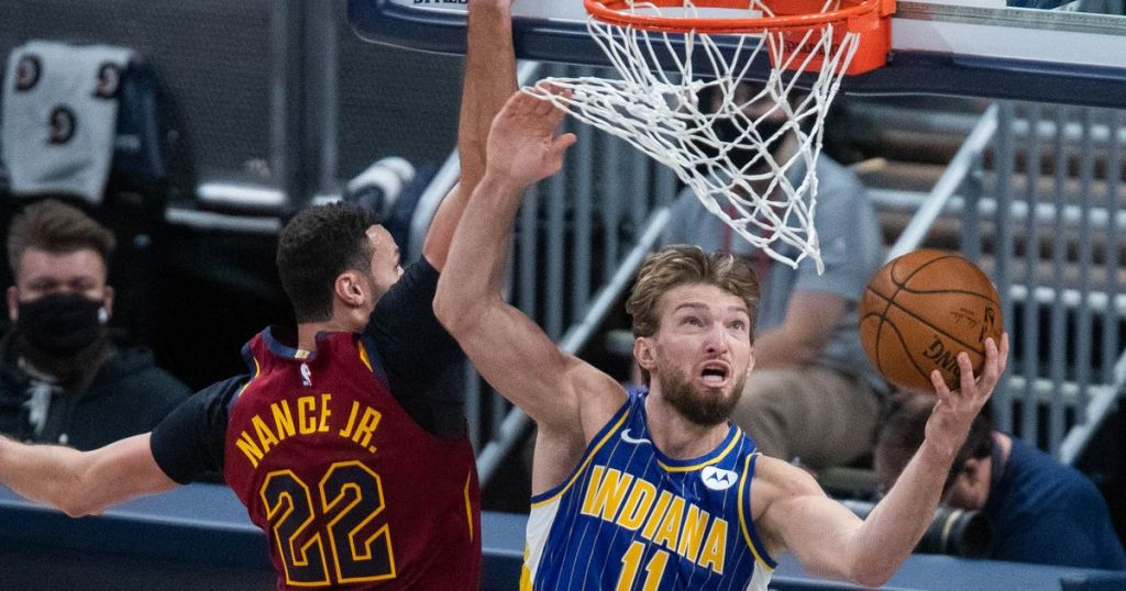 Sexton, Garland combine for 49 points as Cavaliers fall to Pacers 119-99