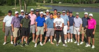 Hamlin on reliving stress with Golf Guys Tour, Bubba's surprise victory
