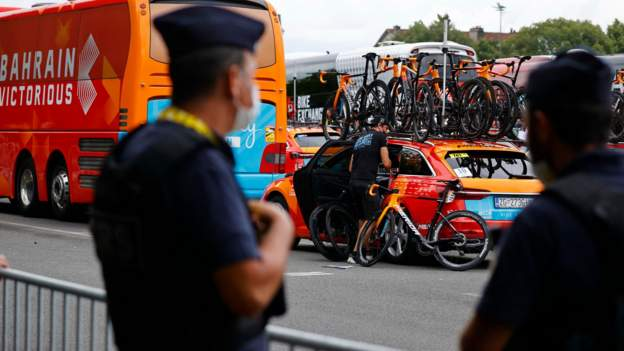 Tour de France 2021: French authorities open investigation into doping allegations against Bahrain-Victorious team