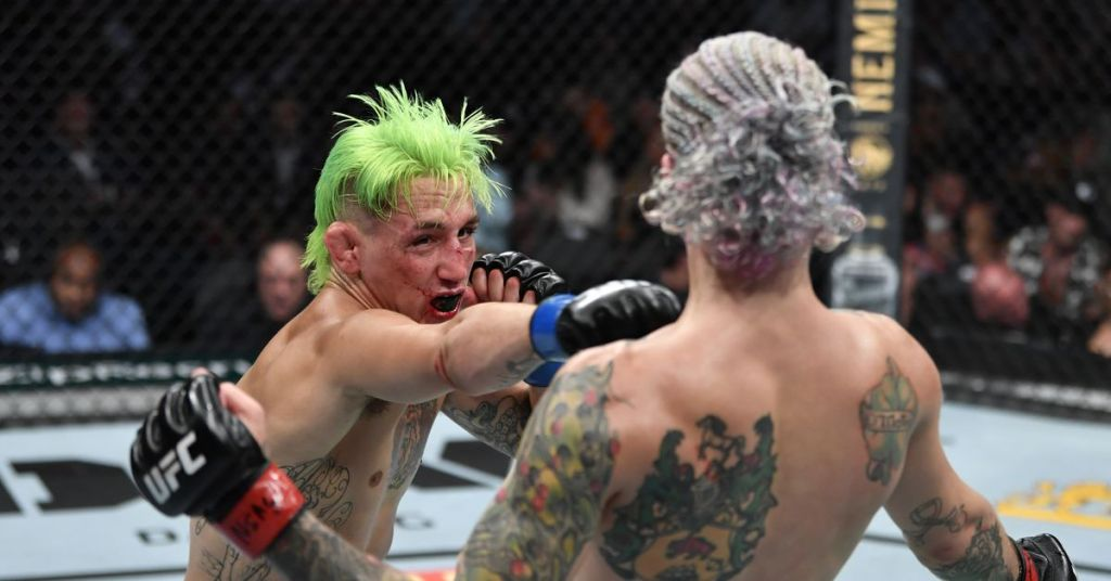 UFC 264 bonuses: Kris Moutinho earns share of Fight of the Night for gutsy performance
