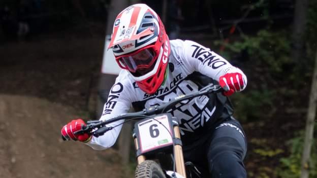 Mountain Bike World Championships: South Africa's Greg Minnaar wins men's downhill title