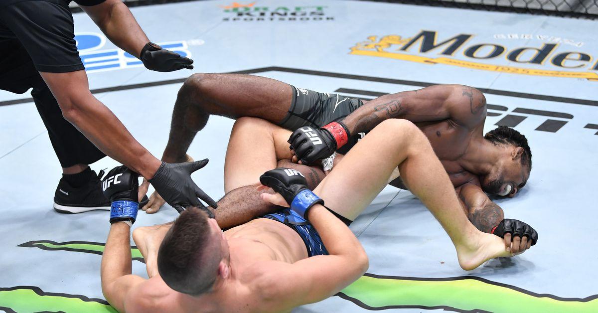 UFC Vegas 35 video: Pat Sabatini shreds Jamall Emmers' knee with devastating heel-hook submission