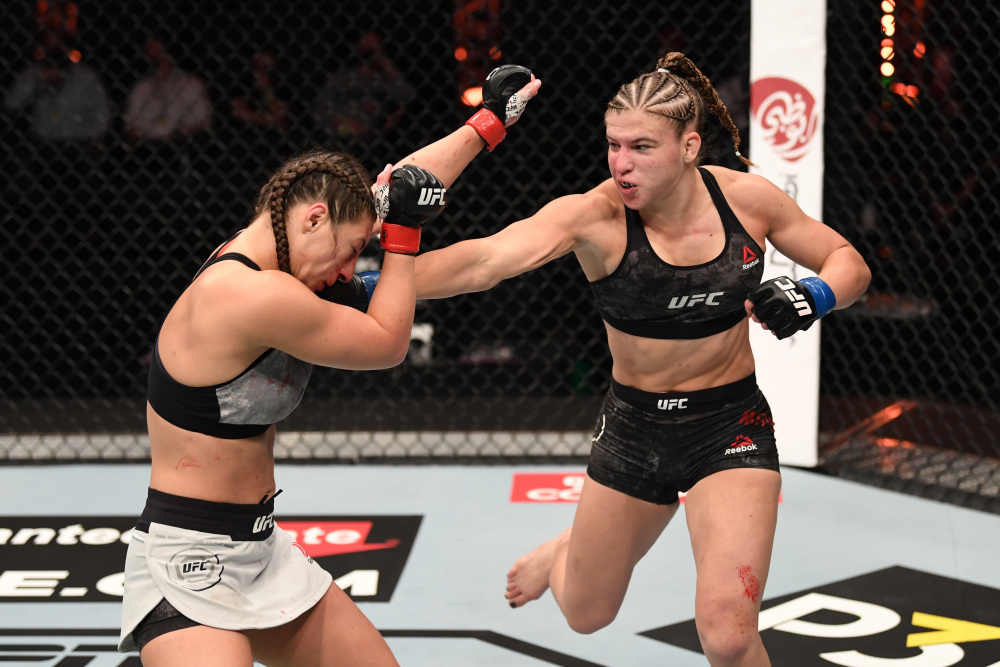 USADA suspends UFC fighter Liliya Shakirova two years for positive test