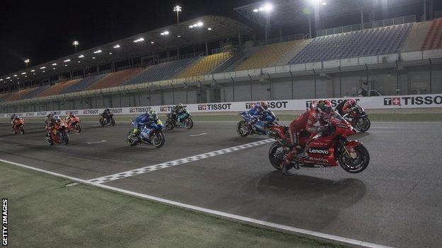 MOTO GP in Qatar