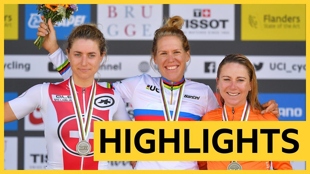 Road Cycling World Championships: Ellen van Dijk wins women's time trial world title