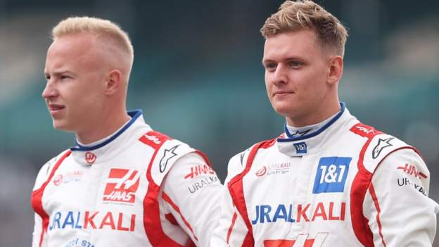 Haas will continue with Mick Schumacher and Nikita Mazepin as their driver line-up for 2022