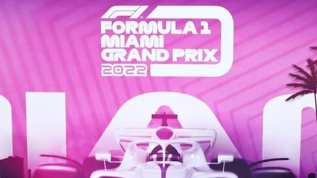 Miami Grand Prix to make Formula 1 debut in May 2022