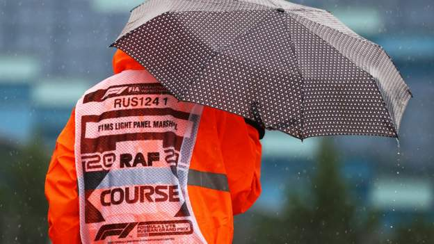 Russian Grand Prix practice cancelled with qualifying decision later
