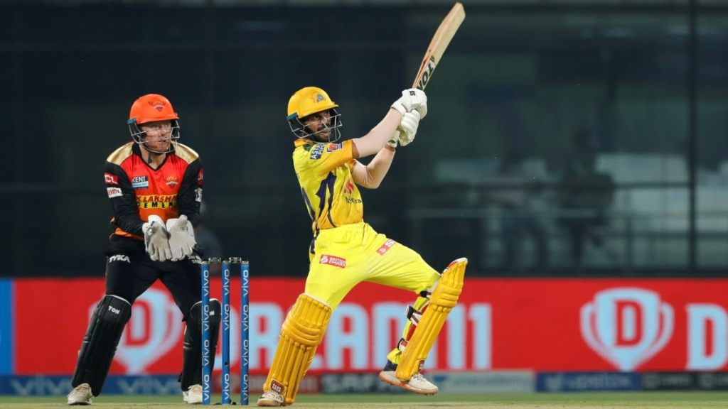 Chennai Super Kings one win away from IPL playoffs