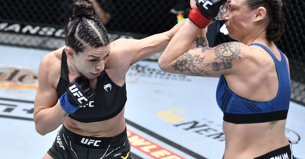 Mackenzie Dern talks Marina Rodriguez fight: 'I have a better chance of knocking her out than she has of submitting me'