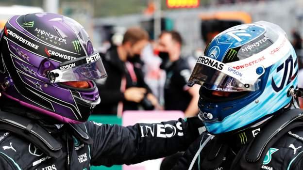 Lewis Hamilton fastest but Valtteri Bottas on Turkish Grand Prix pole after penalty