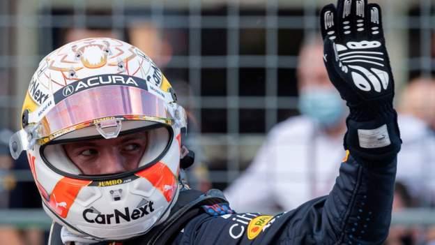 Max Verstappen on United States Grand Prix pole position