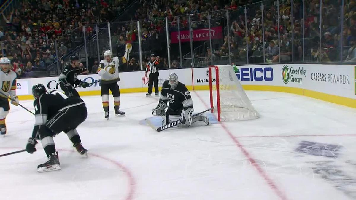 a Goal from Vegas Golden Knights vs. Los Angeles Kings