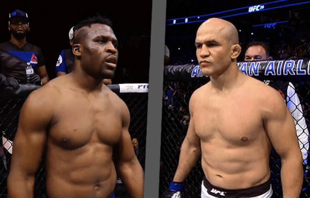 Junior dos Santos Francis Ngannou Betting Odds UFC 239