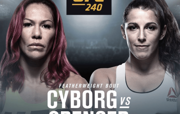 Cyborg Spencer UFC 240 Betting Odds