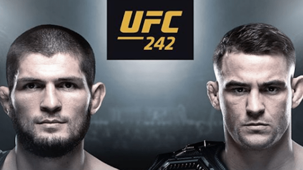 UFC 242 Betting Odds