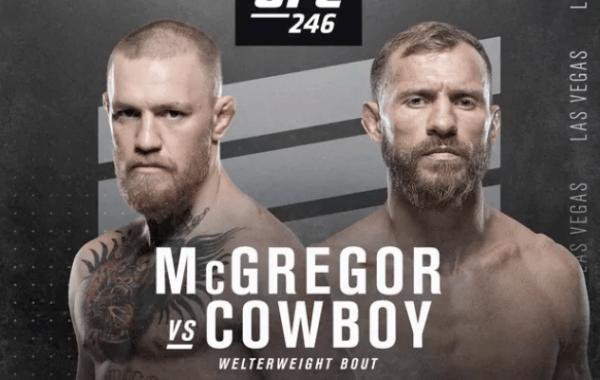 McGregor Cowboy Predictions UFC 246