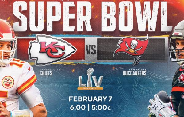 Chiefs vs Bucs set for Super Bowl 55