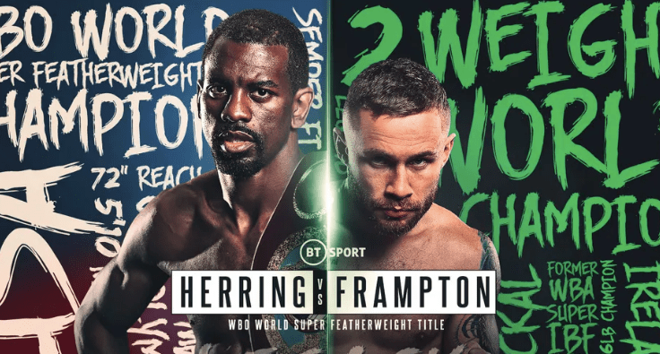 Herring vs Frampton set for April 3 in Dubai