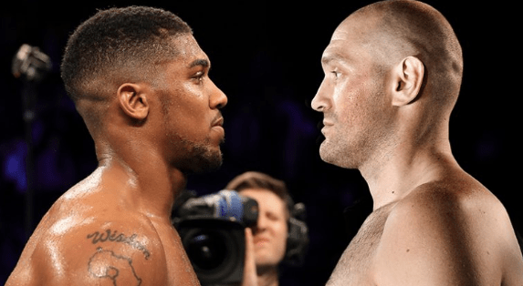 Joshua vs Fury faceoff