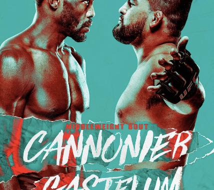 Cannonier vs Gastelum Fight Poster