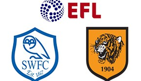 EFL Championship Sheffield Wed vs Hull City
