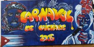 carnaval lienzo 30x50