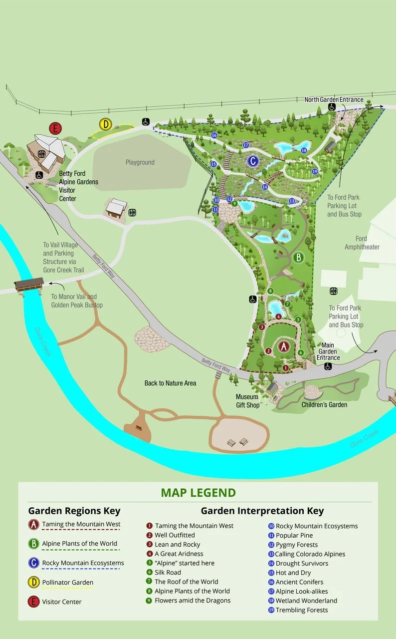 Garden Map 2020