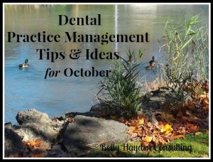 dental-practice-management-ideas-for-october