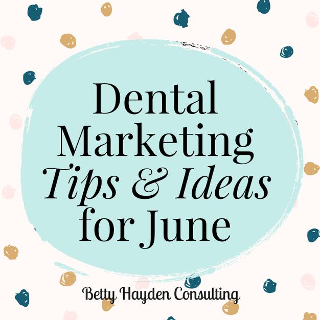 betty hayden consulting dental marketing consultant
