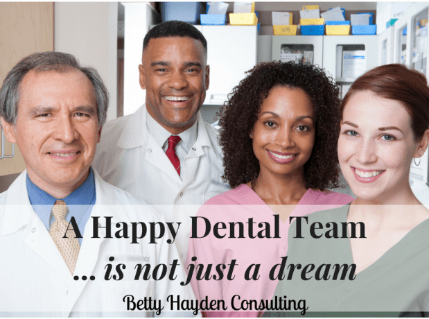 A Happy Dental Team is not just a dream!