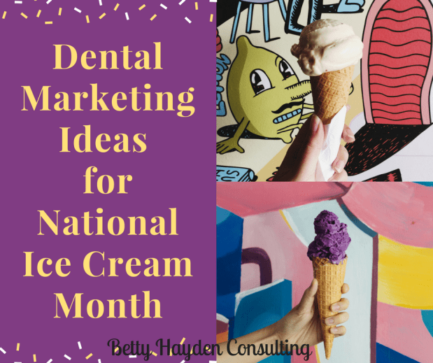Dental Ideas for National Ice Cream Month