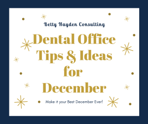 December Dental Marketing Tips and Ideas