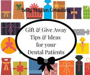 dental patient and referring doctors gift ideas