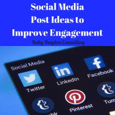 dental social media content ideas from Betty Hayden Consulting