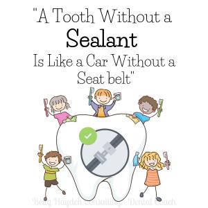dental marketing benefits of sealants