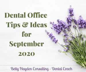 dental coach betty hayden fall dental schedule tips