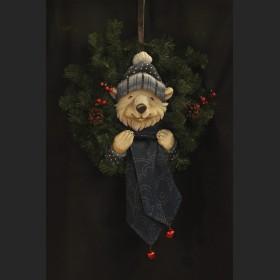 Polar Bear Wreath