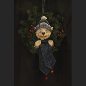 Polar Bear Wreath