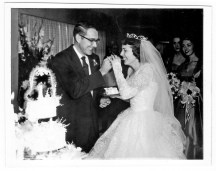 My parents Louis Orville Kiker and Elizabeth Joanna Hannes were married August 27, 1955 - just 2 years and 1 day after the Korean War, where my Dad served, ended.