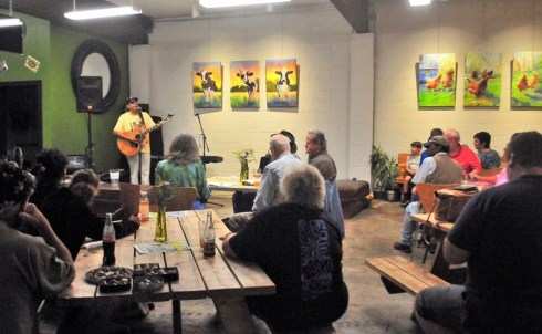 Open Mic on Wednesdays at Greens