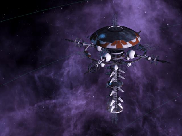Разведывательный центр в Stellaris