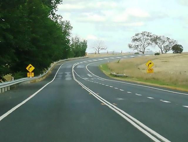 Автострада Бартон, Австралия