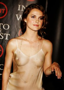 """Keri Russell attending the West Coast premiere of """"Into the West"""" at the Directors Guild Theatre in Los Angeles, California 6/9/05 ©2005 Jeffrey Mayer_Star File"""