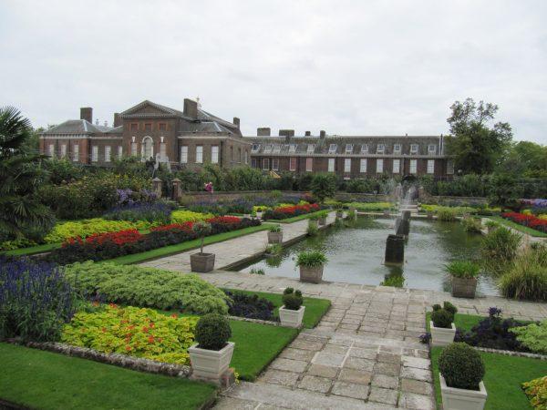 Kensington Palace, London, England.