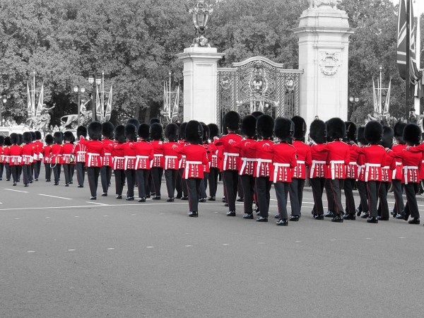 Changing of the Guard, London, England.