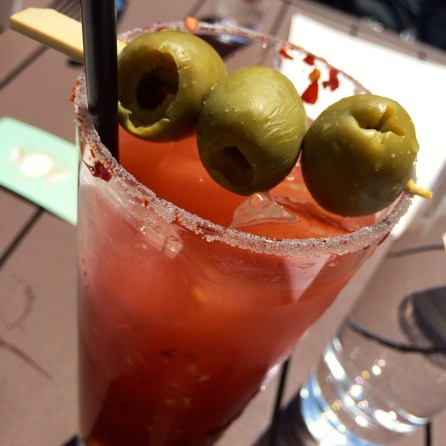 Beau Monde Bloody Mary from Tavern on the Green.